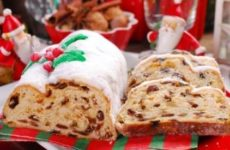 Дрезденский рождественский штоллен и классический рецепт с экзотической начинкой