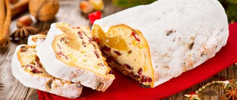 штоллен рождественский кекс пошаговый рецепт