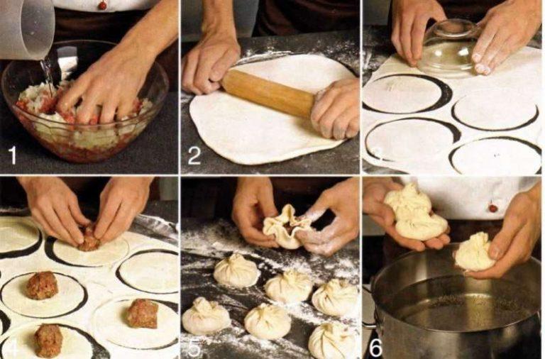 хинкали видео рецепт приготовления