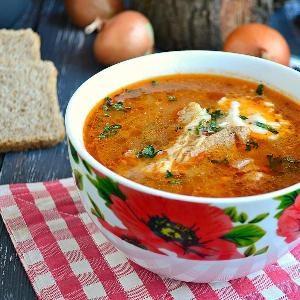 Классический суп рассольник и рецепт приготовления в домашних условиях с рисом