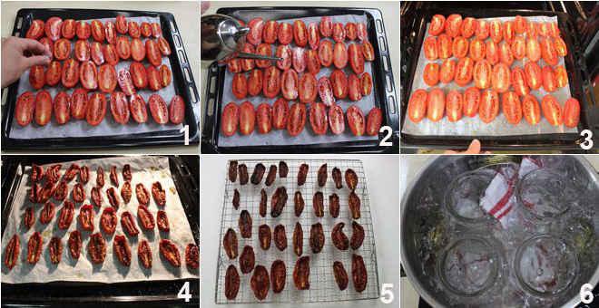 чтобы на зиму заготовить вяленые томаты в домашних условиях
