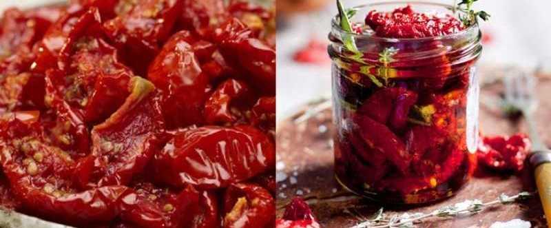 какой салат можно приготовить с вялеными помидорами