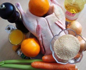 замариновать дикую утку для запекания в духовке рецепт