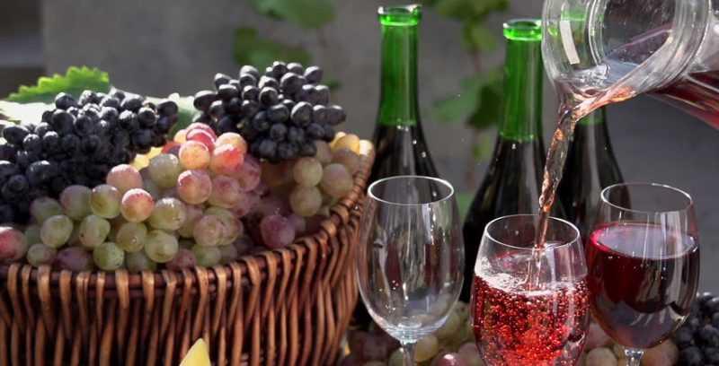 Как сделать свое вино из винограда изабелла 80